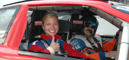 Stock Car Ride Along Passenger In NASCAR