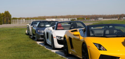 Exotic cars at Pocono Raceway