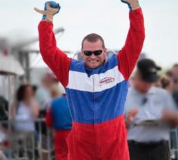 Driver Celebrating after Race
