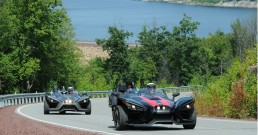 Slingshot coming from Walters dam