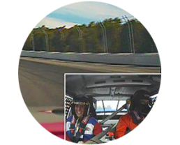 Race Car Driver View