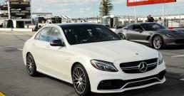 Mercedes Benz Amg 63 At Pocono Raceway